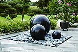 Фонтан  садовый вращающийся шар из натурального камня, Фонтаны для помещений, Фонтан плавающий шар, установка, фото 10