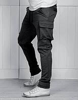 Спортивные мужские штаны карго, фото 1