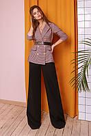 Модный женский костюм двойка ( брюки + пиджак ) с 42 по 46 рр