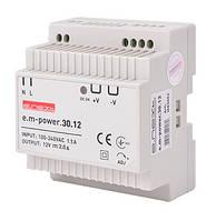 Блок живлення на DIN-рейку e.m-power.30.12 30Вт, DC12В
