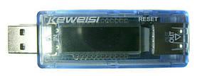 USB тестер тока напряжения потребляемой энергии KEWEISI KWS-V20