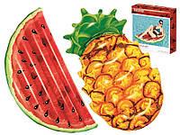 Надувной плот Bestway 43159 матрас в форме ананаса и арбуза