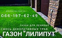 Газон для ленивых , газонная трава Лилипут , супер газон
