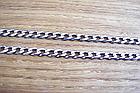 Серебряная цепочка панцирь, фото 3