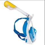 Маска для плавания Free Breath полнолицевая, фото 8