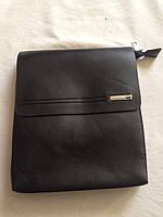 Кожаная мужская сумка Поло еліт барсетка Поло планшетка через плечо, фото 1