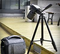Штатив тринога трипод для телефона і камери А608 (142см), фото 1