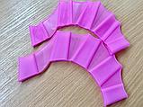 Ласты плавники для рук M L , ласти для плавания силиконовые перепонки, фото 2