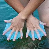 Ласты плавники для рук M L , ласти для плавания силиконовые перепонки, фото 6