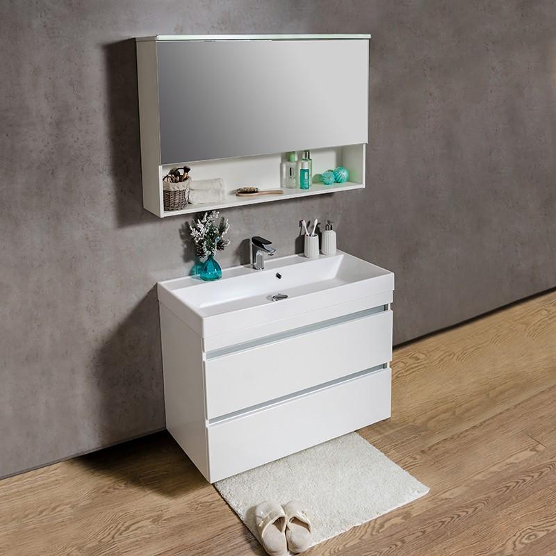 Зеркальный шкафчик Fancy Marble Okinava 1100
