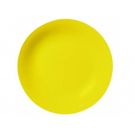 Тарелка обеденная 25 см Arty Yellow Luminarc N2476