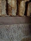 Покривало Норка Травичка двостороннє Шоколад покривало на ліжко, фото 3