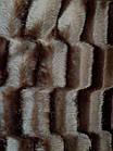 Покривало Норка Травичка двостороннє Шоколад покривало на ліжко, фото 2
