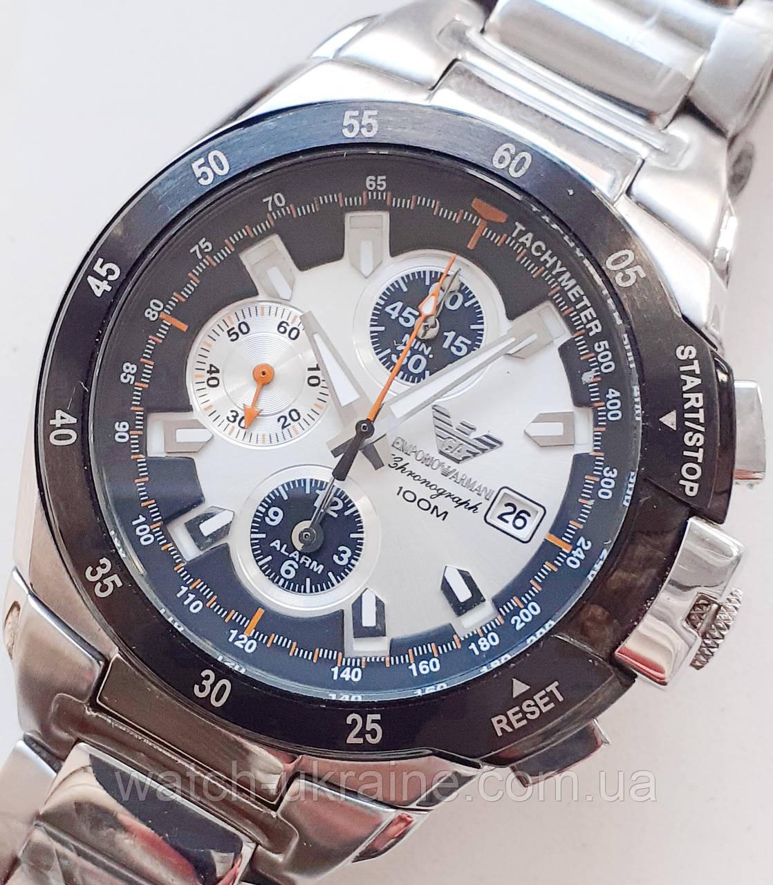 Часы EMPORIO ARMANI хронограф.Класс ААА