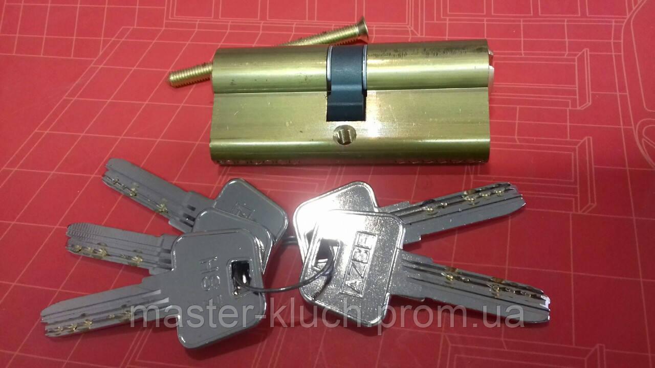 Цилиндр замка Azbe HS-7 70 мм  35/35