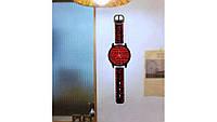 Часы наклейки на стену наручные часы
