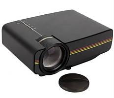 Мультимедийный проектор Led Projector LEJIADA YG400 с динамиком Black (Черный)