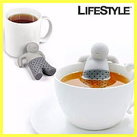 """Ситечко для чая """"Человечек"""" - заварник для чашки MR. TEA"""
