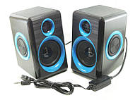 Компьютерные колонки для ПК ABX FT-165 Черный/Синий