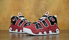 Мужские кроссовки в стиле Nike Air More Uptempo Chicago Bulls, фото 3