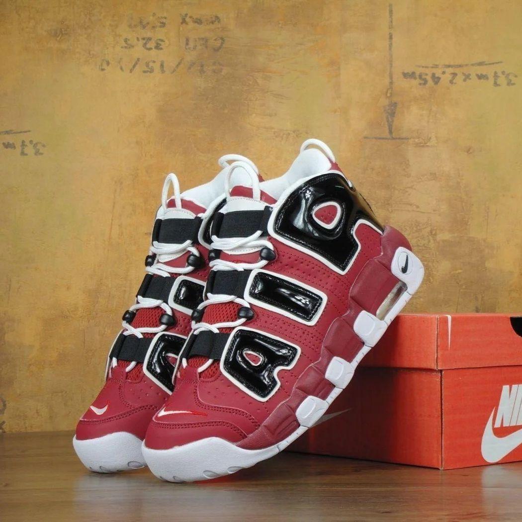 Мужские кроссовки в стиле Nike Air More Uptempo Chicago Bulls