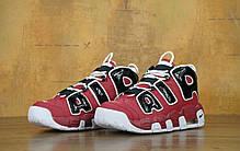 Мужские кроссовки в стиле Nike Air More Uptempo Chicago Bulls, фото 2