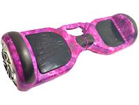 Гироборд/Гироскутер Smart Р-6.5 РУЧ Самобаланс + АРР фиолетовый космос с РУЧКОЙ, фото 1