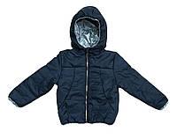 Куртка детская для девочки синяя 110, 116, 122, 128