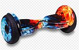 Гироборды Smart Р-10 самобаланс + АРР блискавка, фото 3