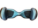 Гироборд Smart Р-10.5 самобаланс + APP Синє Сяйво, фото 8