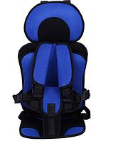 Безкаркасне Автокрісло для дітей від 2х років до 12 років синє, фото 1