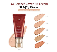 BB крем от Missha M Perfect Cover, №13, 50ml