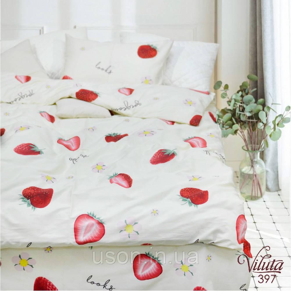 Комплект постельного белья подростковый  сатин ТМ Вилюта 397