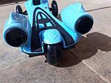 Самокат з Турбіною і светяшиеся колеса, фото 7