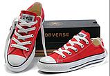 Кеды копия Converse All Star classic мужские и женские все цвета низкие, фото 2
