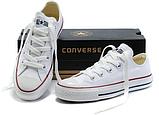 Кеды копия Converse All Star classic мужские и женские все цвета низкие, фото 6