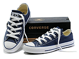 Кеды копия Converse All Star classic мужские все цвета низкие, фото 9