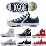Кеди копія Converse All Star classic чоловічі всі кольори високі, фото 3