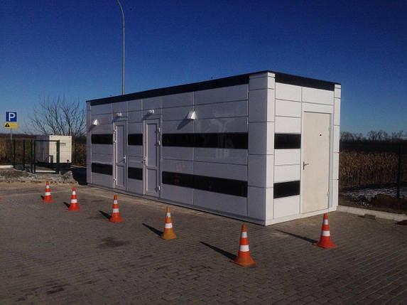 Санітарний модуль 2,5х7,5м, фото 2