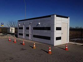 Санитарный модуль 2,5х7,5м