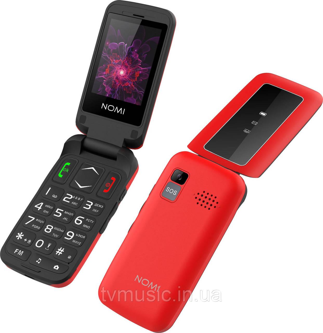 Мобильный телефон Nomi i2400 Red