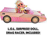ЛОЛ Сюрприз Лайтс Машина кабриолет с куклой 3 в 1 L.O.L. Surprise! OMG Lights Car-Pool Coupe