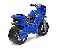Беговел-Мотоцикл двухколесный с сигналом Bike Y6 Blue
