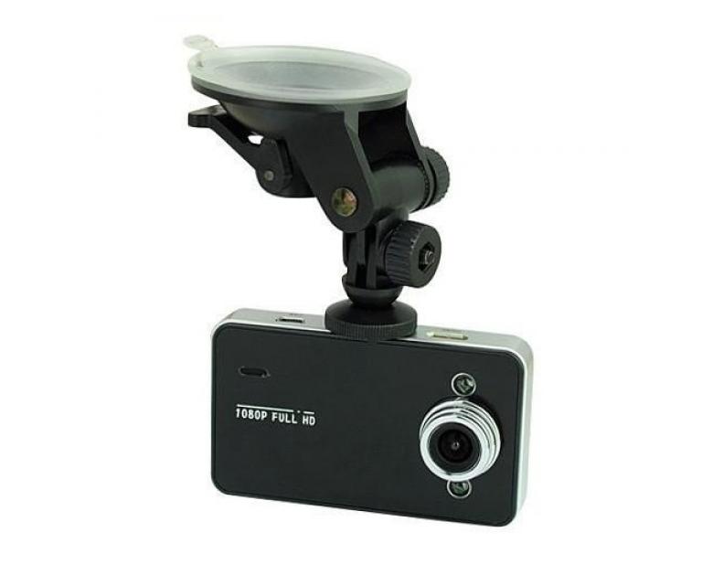 Автомобильный видеорегистратор DVR K6000 Full HD 1080p Черный