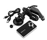 Автомобильный видеорегистратор DVR K6000 Full HD 1080p Черный, фото 2