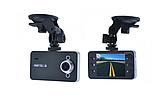 Автомобильный видеорегистратор DVR K6000 Full HD 1080p Черный, фото 3