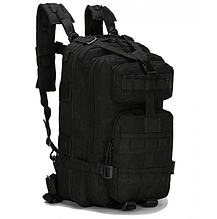 Тактический штурмовой военный рюкзак на 23-25 Traum литров чёрный