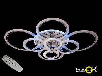 Люстра светодиодная потолочная 1126/8 HR LED 3color dimmer