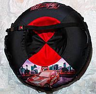 Надувные санки-ватрушка тюбинг Need for speed 100 см, фото 1