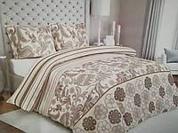Комплект Постельного белья евро Сатин Gold